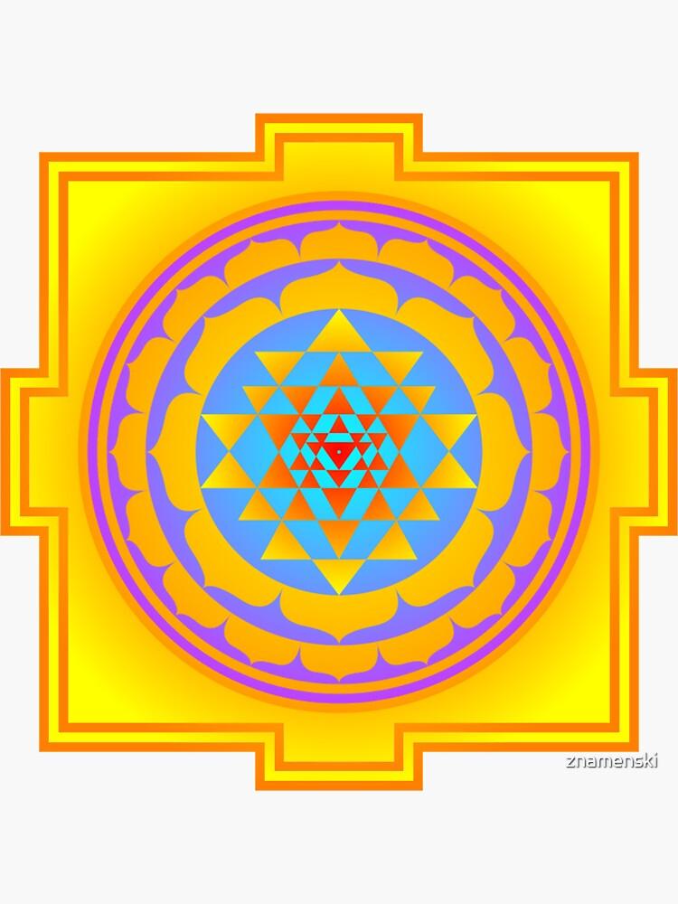 Shri Yantra, Sri Yantra, Shri Chakra  by znamenski