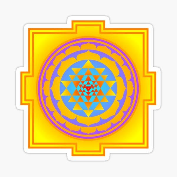 Shri Yantra, Sri Yantra, Shri Chakra  Sticker