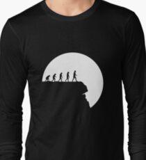 99 steps of progress - Free will Long Sleeve T-Shirt