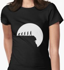 99 steps of progress - Free will Women's Fitted T-Shirt
