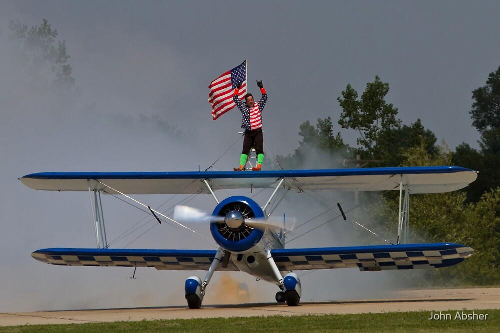God Bless The USA !! by John Absher