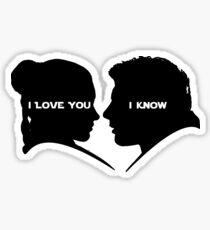 I love You I Know Sticker