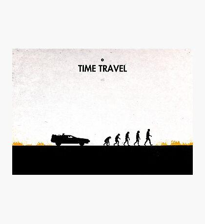 99 steps of progress - Time travel Photographic Print