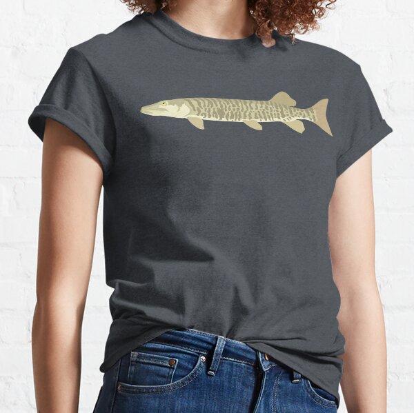 Muskellunge (Muskie) - Esox masquinongy Classic T-Shirt