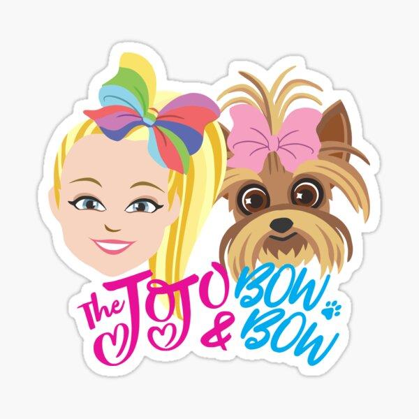JoJo Siwa and BowBow Sticker