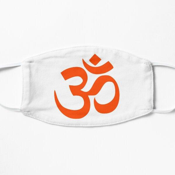 Om Hinduism Symbol  Flat Mask