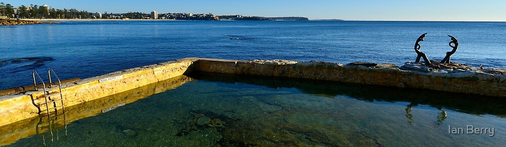 Manly Ocean Pool by Ian Berry