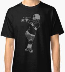 Rollergirl [Grey] Classic T-Shirt