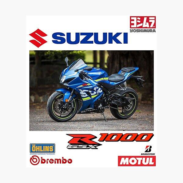 Suzuki GSXR1000 design (02) Photographic Print