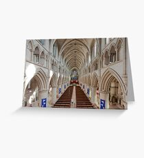 Norwich Roman Catholic Cathedral Greeting Card