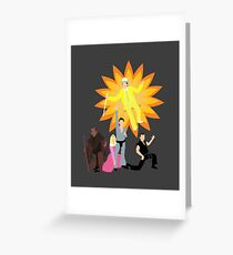 Dayman, Ahhhahhhhahhhhh! Greeting Card