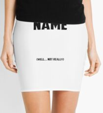 Danger Is my Middle name  (well... not really) Mini Skirt