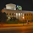 State Capitol Building at night - Columbus, Ohio by michael6076