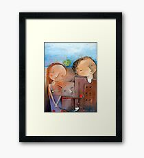 Unapproachable Framed Print