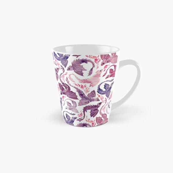 Dragon feu rose & violet Mug long