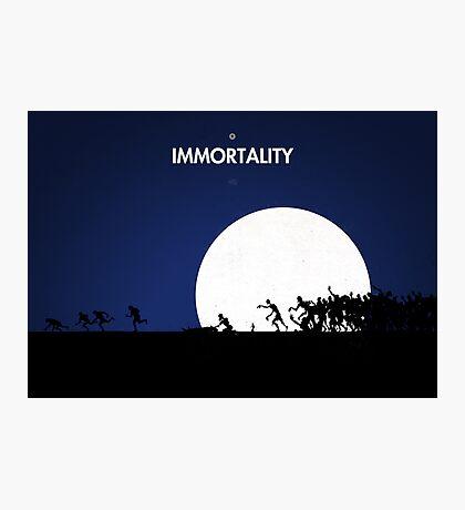 99 steps of progress - Immortality Photographic Print