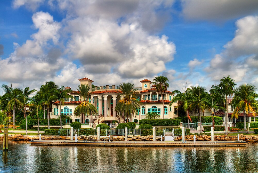 Fort Lauderdale Mansion by Ray Chiarello