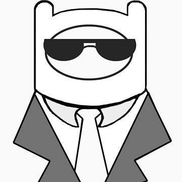 Finn the Human in a Suit Simple by ShadowDesigns