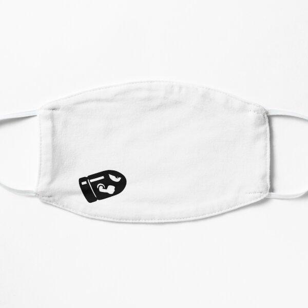 Bullet pew pew Flat Mask