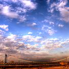 Clouds & Bridge by luciaferrer