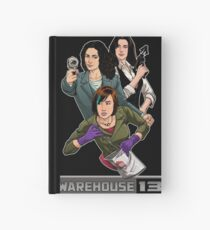 Warehouse 13 girls Hardcover Journal