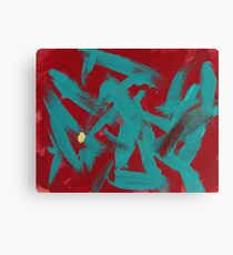 Anger with a Touch of Mellow Canvas Print