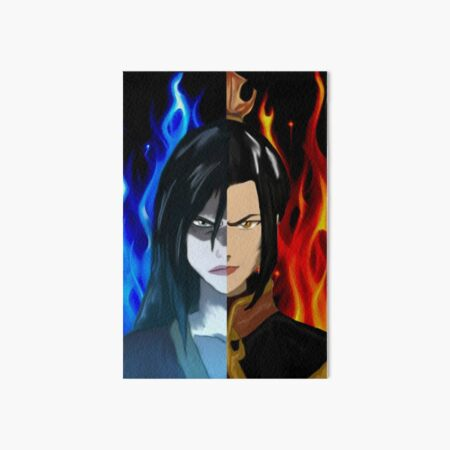 Azula Fire Princess - Fire Lord Azula split Art Board Print