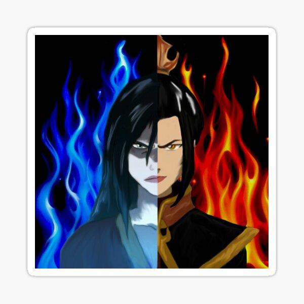 Azula Fire Princess - Fire Lord Azula split Sticker