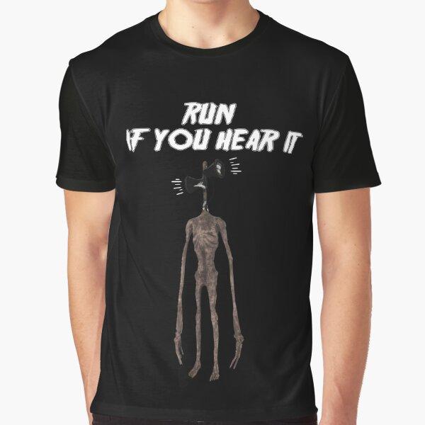 Siren Head Creature Graphic T-Shirt