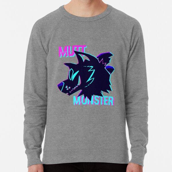 Mutt Monster Glitch Lightweight Sweatshirt
