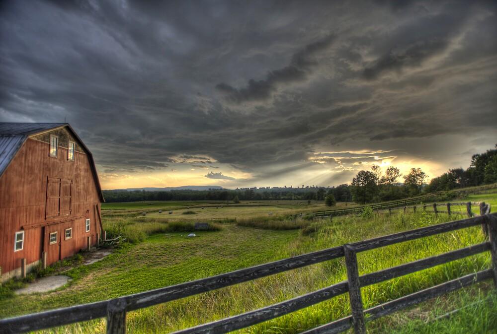 The Red Barn by Sean Allocca