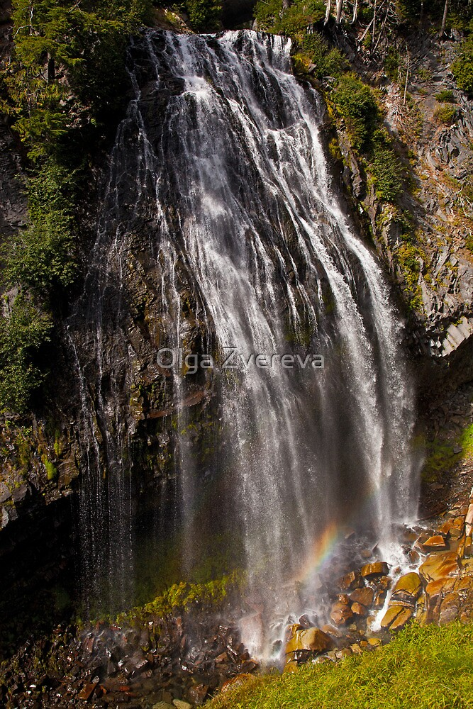 Narada Falls by Olga Zvereva