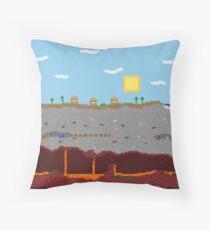 Minecraft World Throw Pillow
