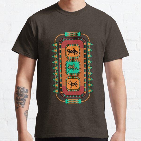 Lizard Glyphs Classic T-Shirt