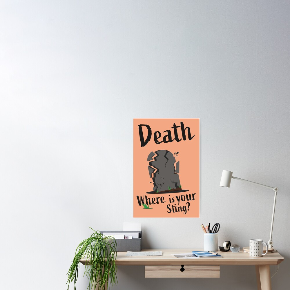 Death Where Is Your Sting Poster Poster