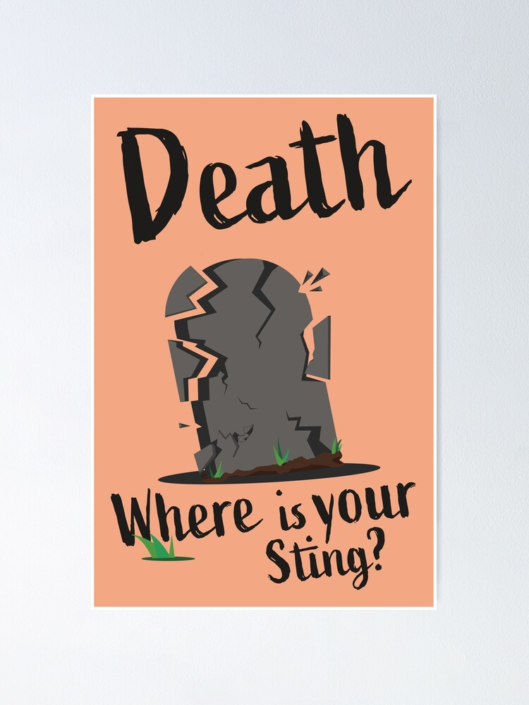 Alternate view of Death Where Is Your Sting Poster Poster