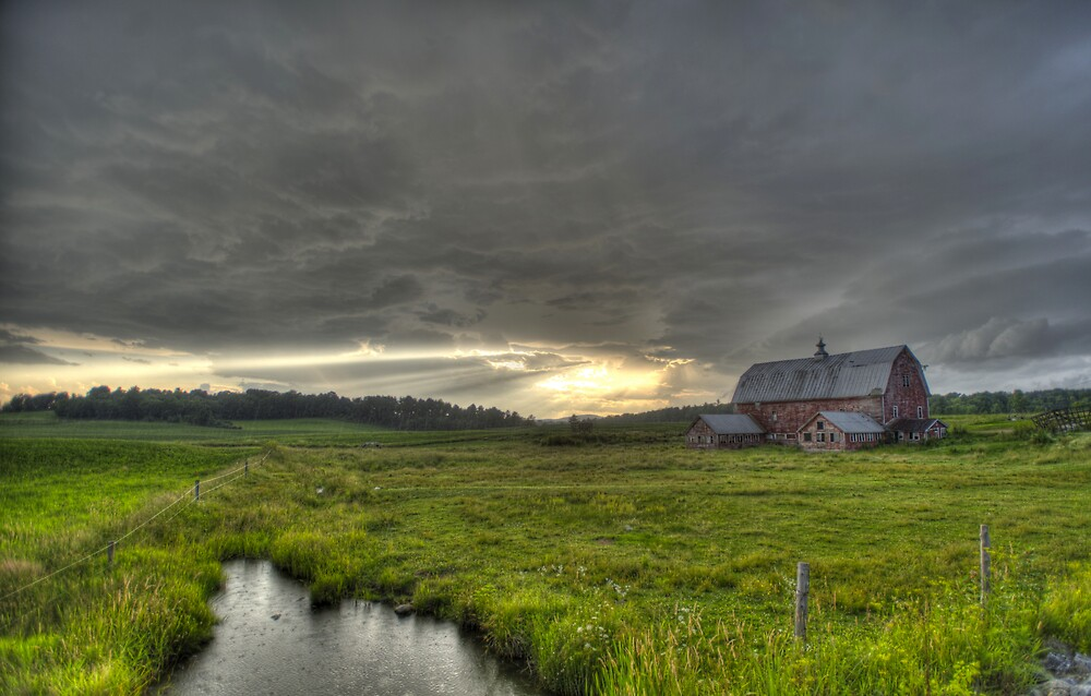Stormy Sunset by Sean Allocca