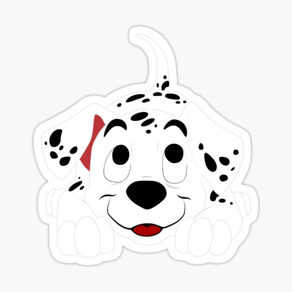 Cute Dalmatian Sticker