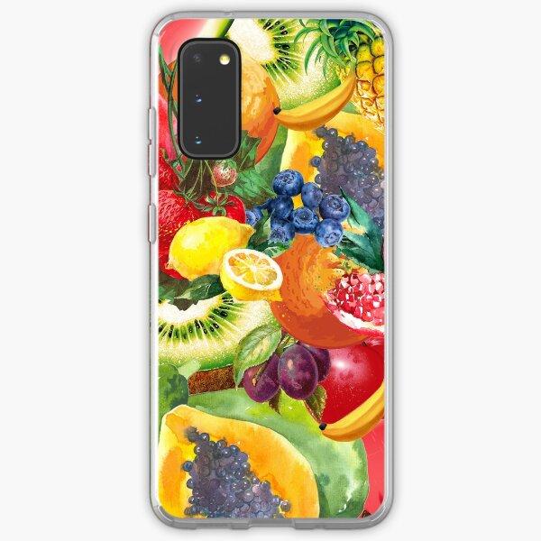 Summer Fruit Samsung Galaxy Soft Case