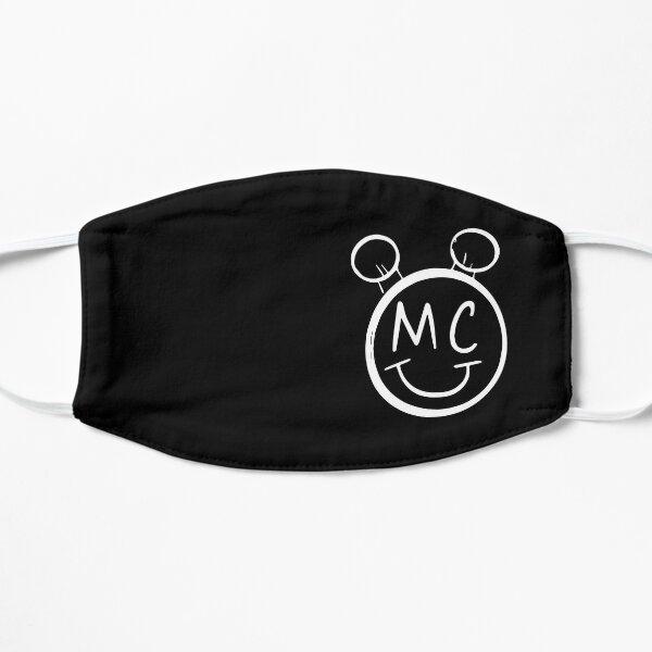 Logotipo de Miley Cyrus MC Converse Space Bun Mascarilla plana