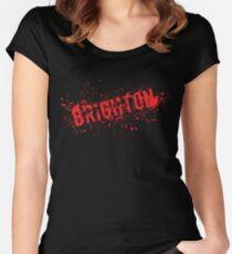 Brighton - Grunge Women's Fitted Scoop T-Shirt