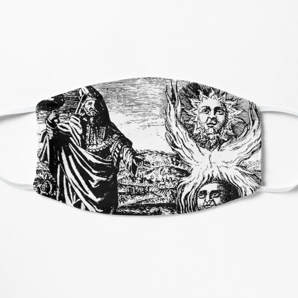 Hermes Trismegistus Alchemy Hermetica as Above so Below  Mask