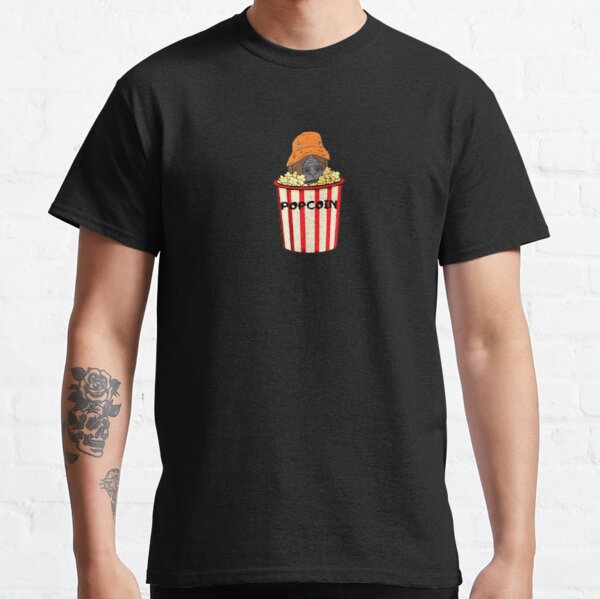 Sassy Popcoin Bucket Classic T-Shirt