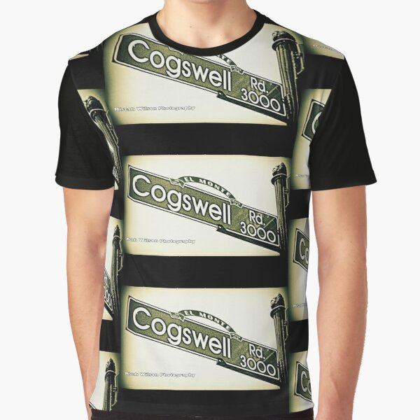 Cogswell Road, El Monte, California by Mistah Wilson Graphic T-Shirt