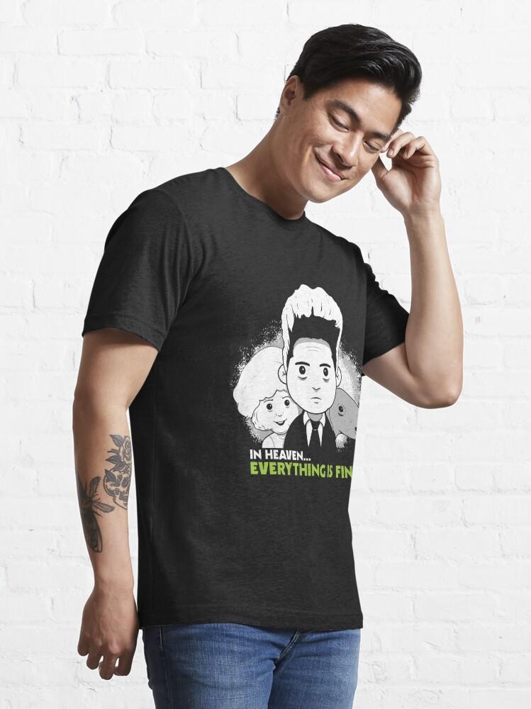 "Alternate view of Saturday Morning ""Eraserhead"" Essential T-Shirt"