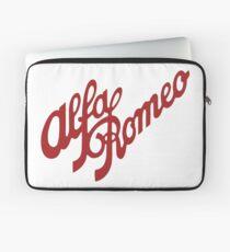 Alfa Romeo Script in RED Laptop Sleeve