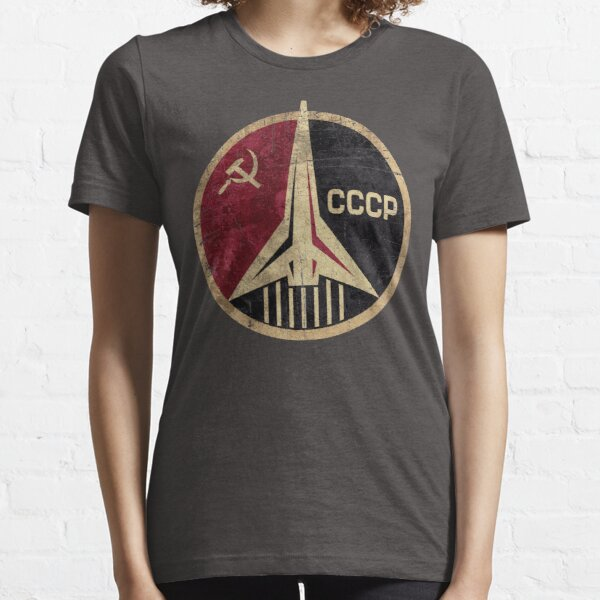 CCCP Rocket Emblem  Essential T-Shirt