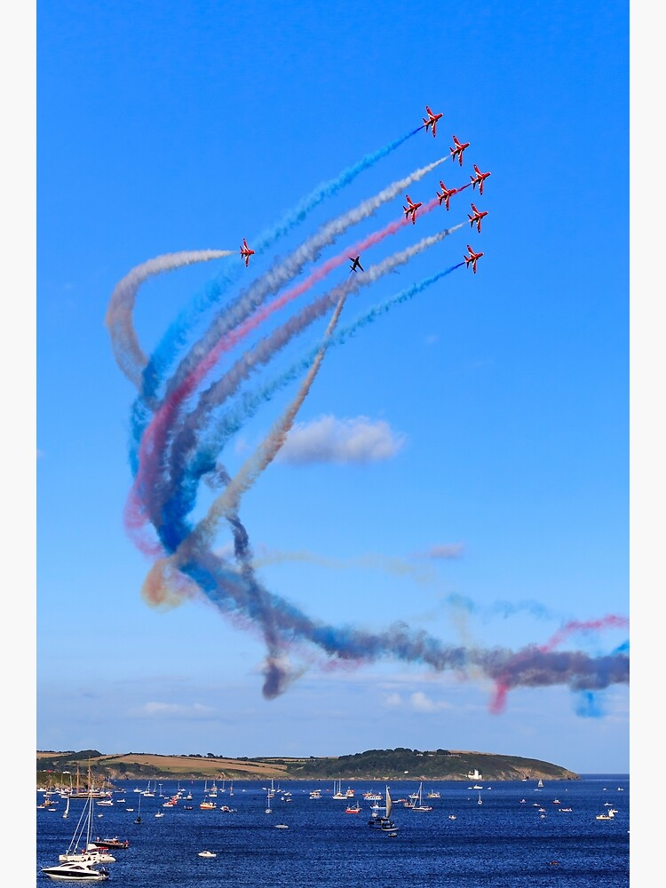 Red Arrows Display Team (Falmouth) by bitm2007