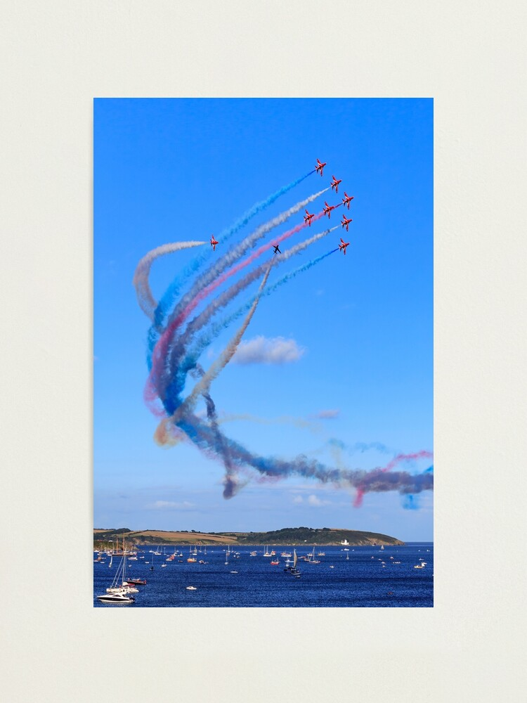Alternate view of Red Arrows Display Team (Falmouth) Photographic Print