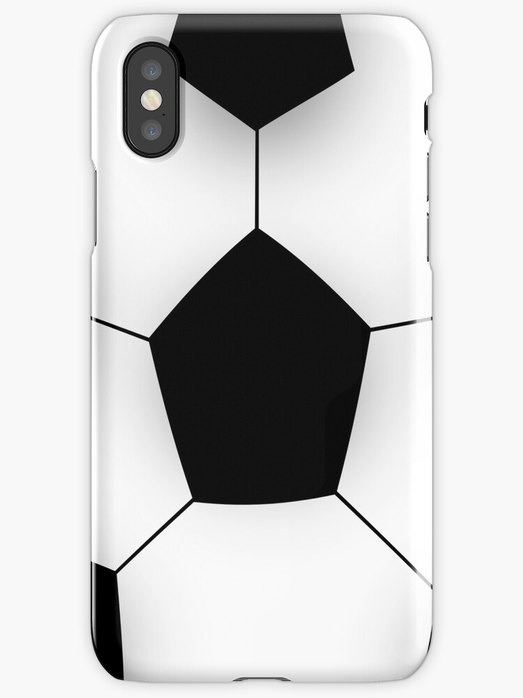 Soccer Ball IPhone and Ipod Cases by Clickcreations